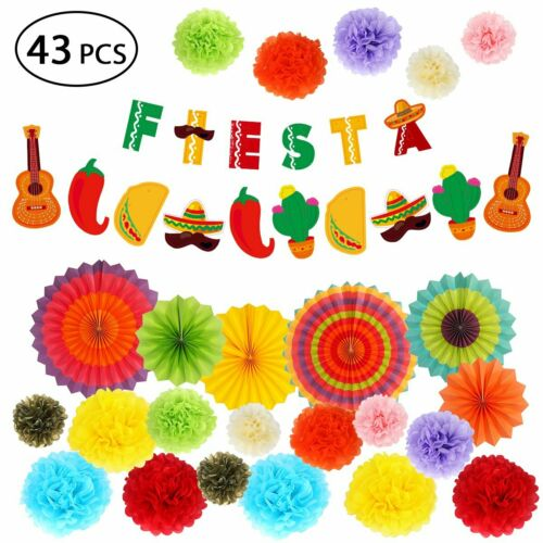 Mexican Themed Favors Fiesta Party Decoration Supplies Banne