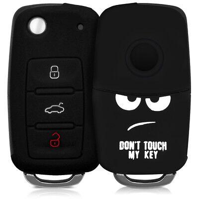 Silikon Hülle für VW Skoda Seat 3-Tasten Autoschlüssel Schutzhülle Schlüssel