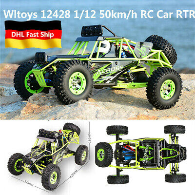Wltoys 1/12 2,4G 4WD RC Auto 50km/h High Speed Ferngesteuertes Offroad Truck Car