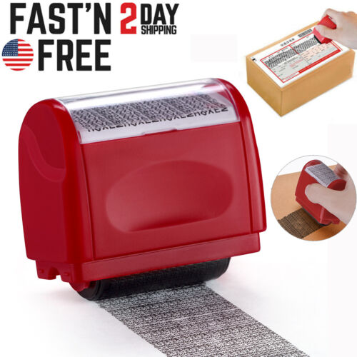 Identity Theft Protection Roller Stamp Guard Your ID Privacy Confidential Data