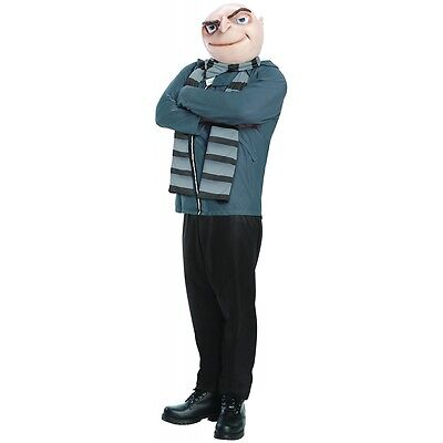 Gru Costume Adult Despicable Me Halloween Fancy Dress - Halloween Costume Despicable Me