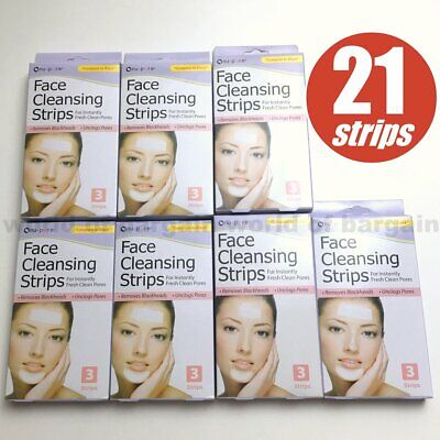 Nu Pore Cleansing Strips (21 ct Nu-Pore Face Nose Cleansing Strips Peel Off Unclog Pores Remove Blackheads )
