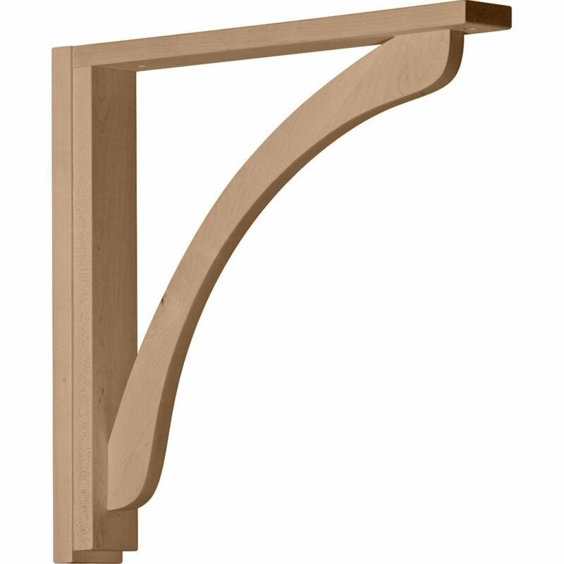 """Ekena Millwork Shelf Brackets & Supports (2 1/2"""" W x 17 3/4"""" D x 17 1/4"""" H)"""