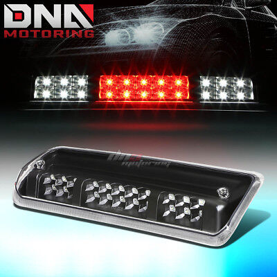 FOR 2004 2008 FORD F150 2 ROW LED THIRD 3RD TAIL BRAKE LIGHT WCARGO LAMP BLACK