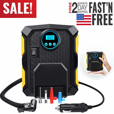 Tire Inflator Car Air Pump Compressor Electric Portable Auto 12V DC Volt 150 PSI