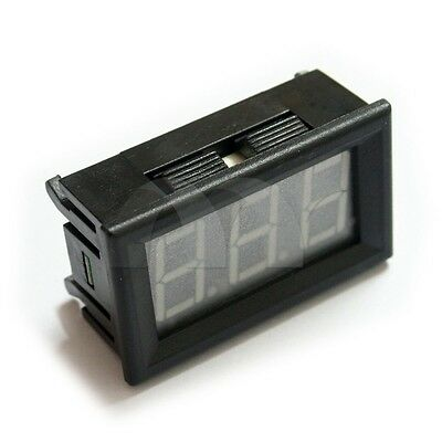0.56 Dc 0-10a Ammeter Led Panel Amp Meter Digital Gauge Display 4-30v Us