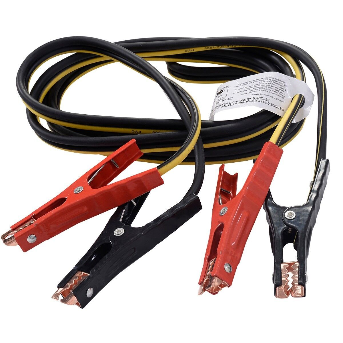 12ft 6 Gague Booster Cable Jumping Cables Power Jumper