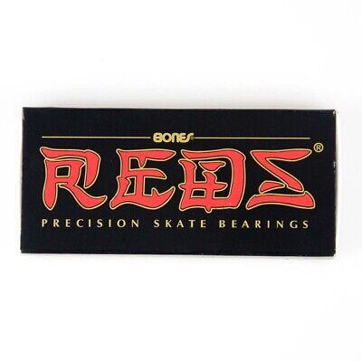 BONES REDS Bearings 8mm (Single set 8pcs) 608 Inline Skateboard Bearings