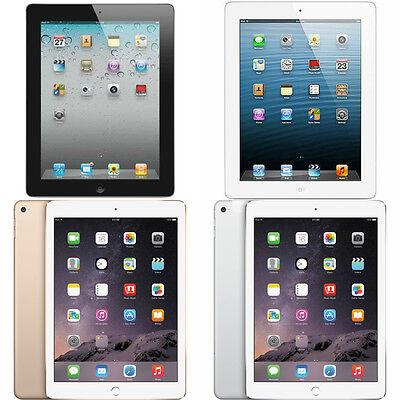 Apple iPad 2, 3, 4, Air, or Air 2 WiFi 9.7in Tablet (Refurbished)