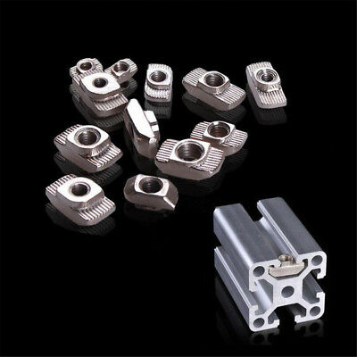 Drop In Tee T-nuts 2020 T-slot Aluminium Profile Extrusion For 3d Printer M345