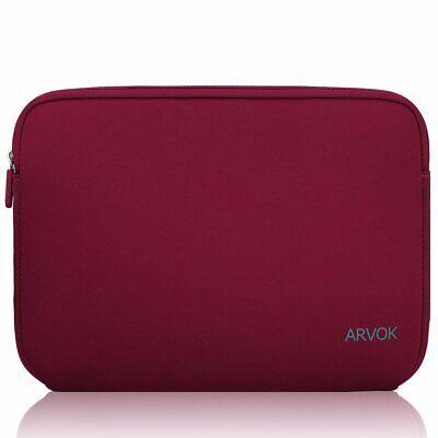 13 133 14 Zoll Laptoptasche Schutzhülle Wasserfest Neoprene Wein Rot