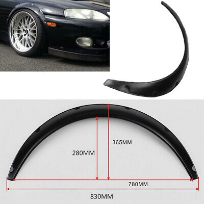 UK 4Pcs Universal Widened JDM Fender Flares Wheel Arch ABS Car Fittings 30''