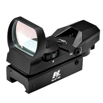 Ncstar D4rgb Red   Green Four Reticle Reflex Optic Dot Sight Black
