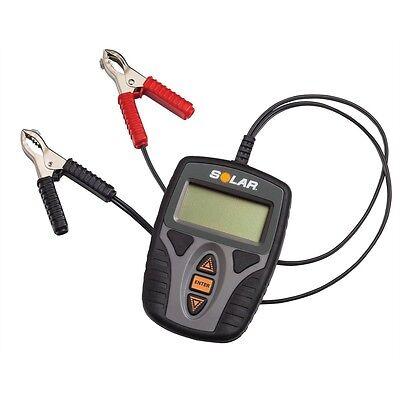 SOLAR BA9 12 Volt Digital Battery, Charging, Starting System Tester