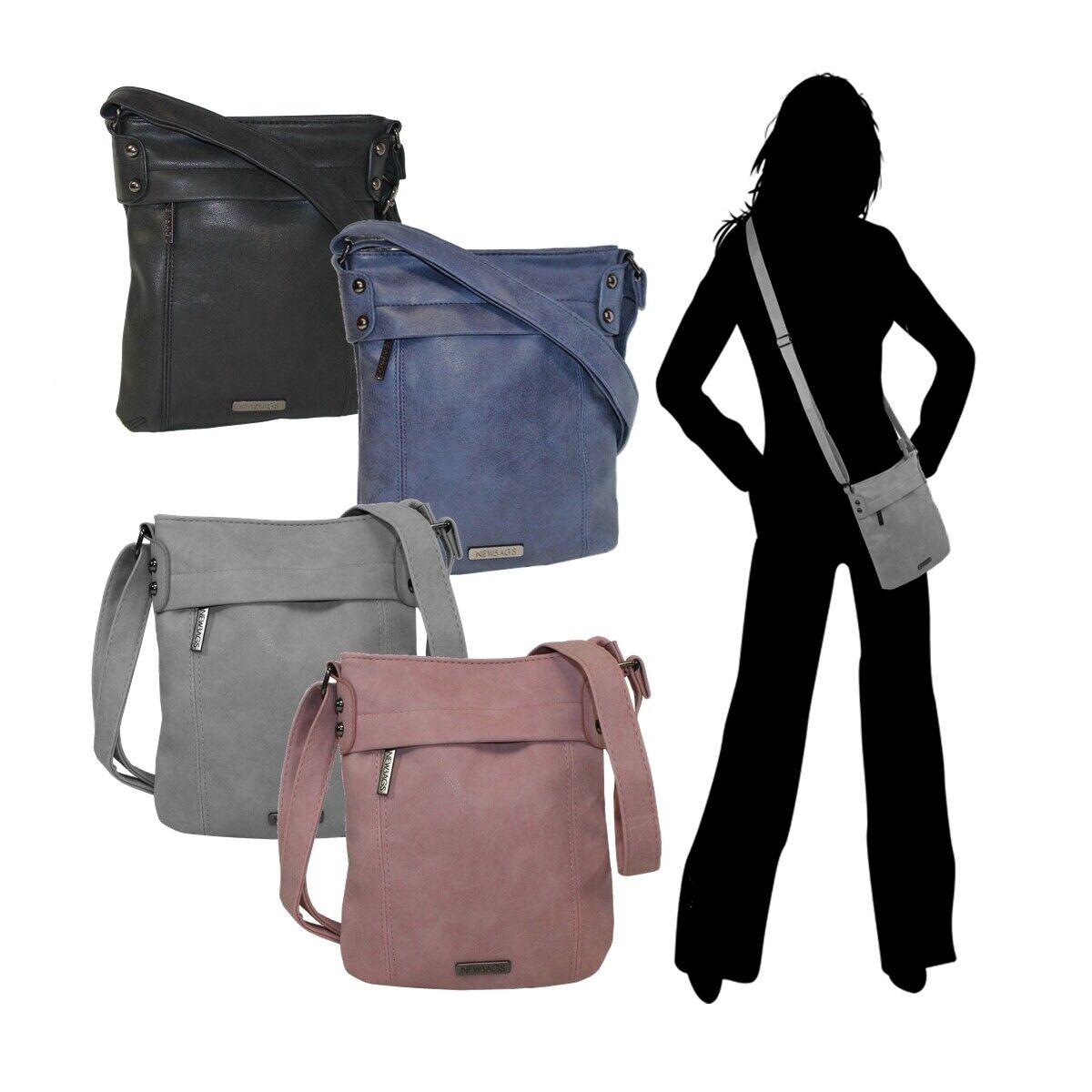 New Bags Kleine Umhängetasche Handtasche Damen Mädchen Ausgehtasche -6096