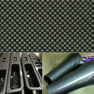 Black Carbon Fiber Water Transfer Dipping Hydrographics Hydro Film 100x50cm Su