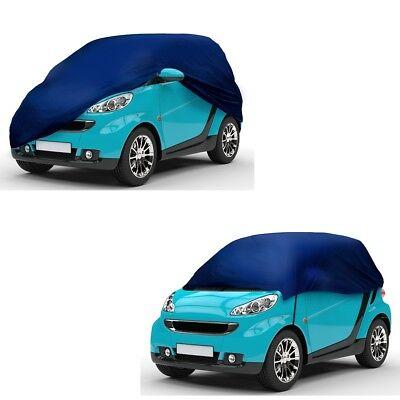 Ganzgarage Halbgarage Garage für Smart Abdeckung Autoabdeckplane Kleinwagen Auto