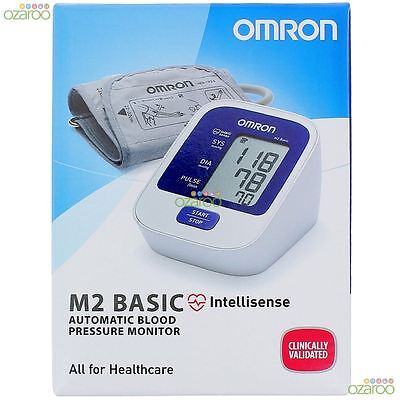 Omron M2 Basic Digital Automatic Intellisense Upper Arm Blood Pressure Monitor
