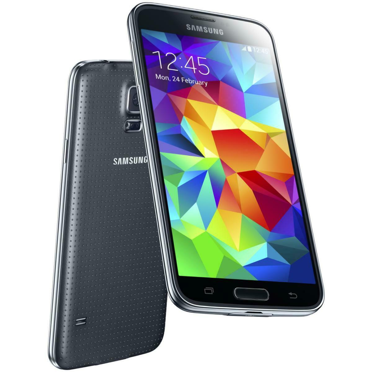 Android Phone - Samsung Galaxy S5 G900V 16GB Verizon GSM Unlocked AT&T T-Mobile Smartphone Black