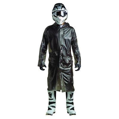 Thor Anzug (Thor MX Regenanzug Regenmantel Motocross Enduro Regenschutz Schwarz PVC)