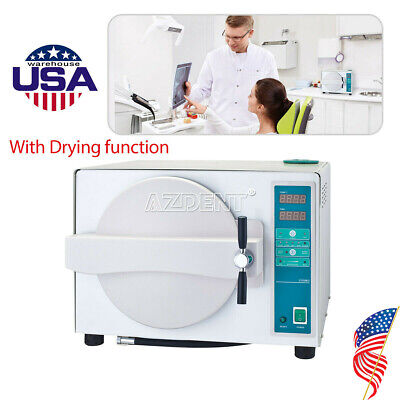 Usa 18 L Steam Sterilizer Automatic With Drying Function Dental Lab Equipment