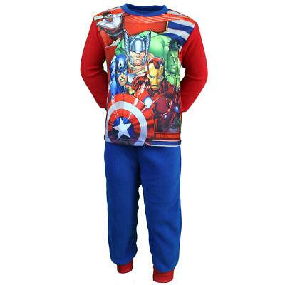 Thor Anzug (Avengers Hulk Thor Iron Kinder Pyjama Gr 92 98 104 110 116 oder 128 Schlafanzug )