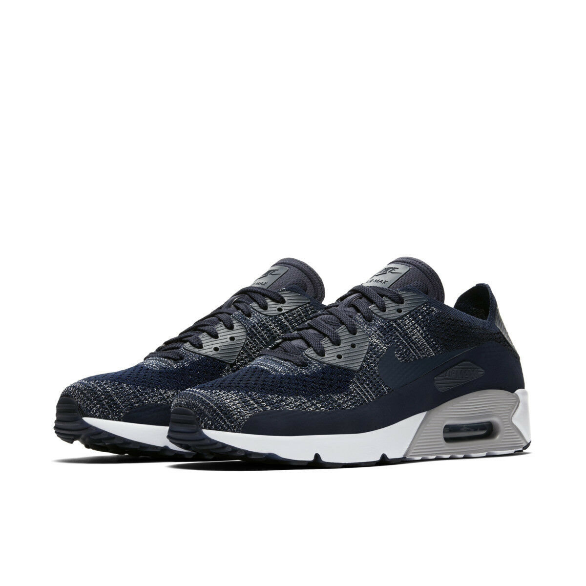 low priced 0bb86 e8e37 Mens Nike Air Max 90 Ultra 2.0 Flyknit Running Sports Casual ...