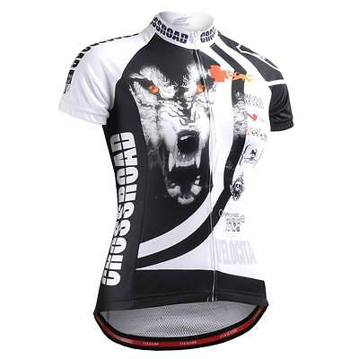 FIXGEAR CS-W2202 Women's Short Sleeve Cycling Jersey Bicycle Roadbike MTB