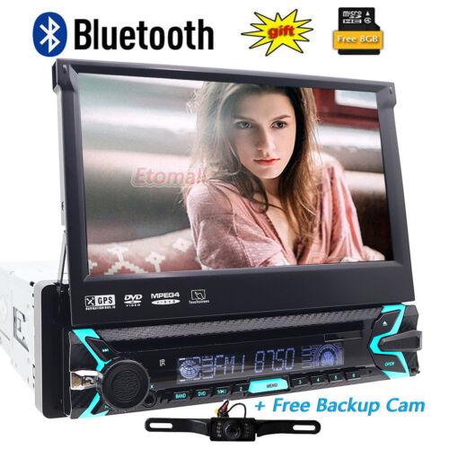 "Touchscreen 2 Din 7"" Car Stereo DVD CD MP3 Player HD In Dash"