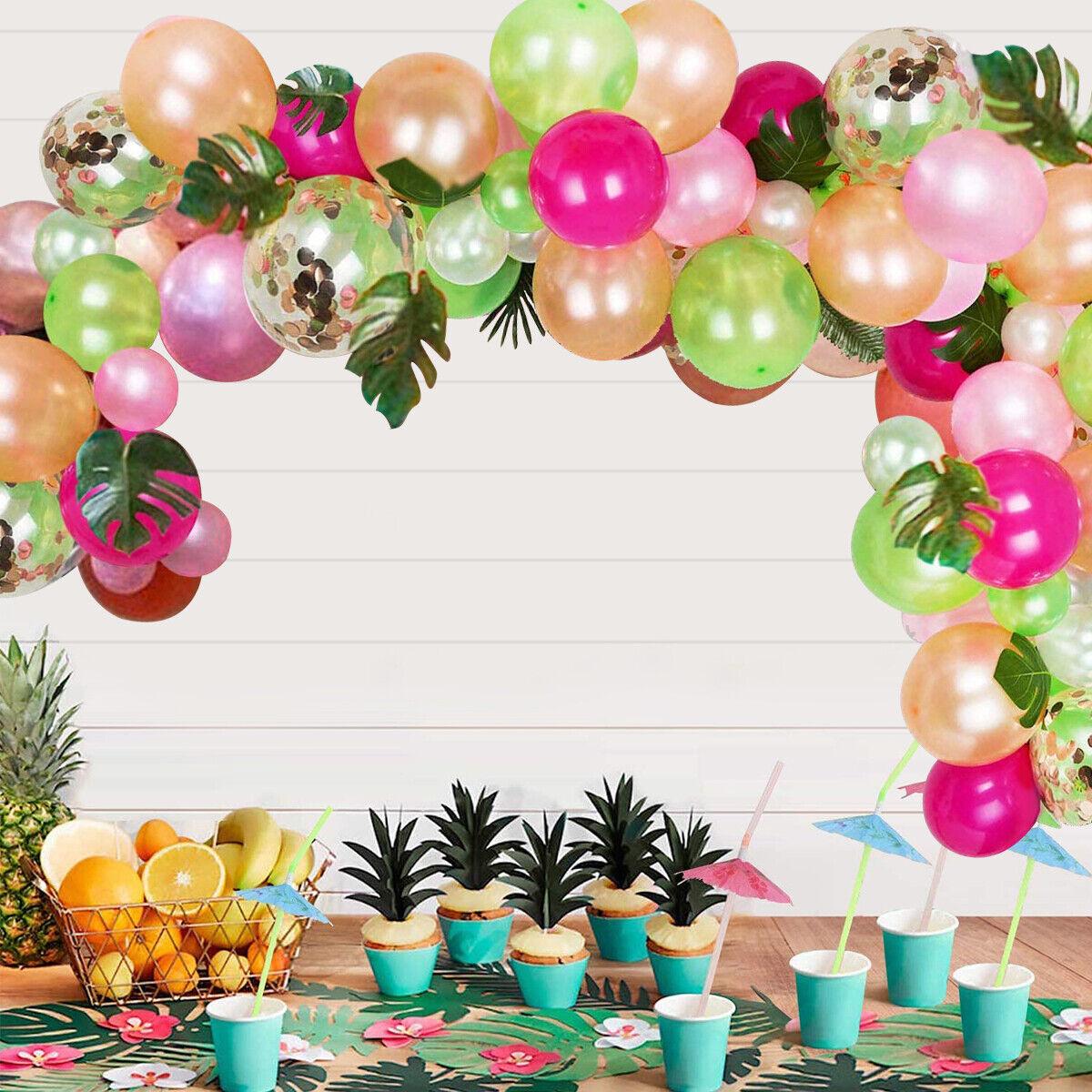 Tropical baby shower decor,Tropical table decor,Flamingo birthday,Tropical wedding,Tropical garland,Pineapple decor,for MORE PLEASE CONTACT