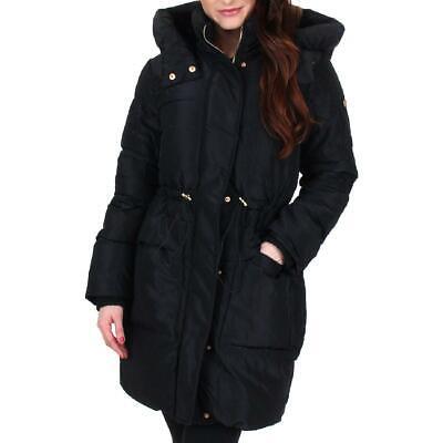 Jessica Simpson Women's Water Resistant Mid-Length Winter Puffer Coat