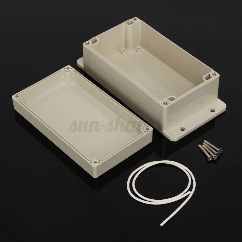 """6 Inch Waterproof  Abs Plastic Project Box Enclosure (6"""" (l) X 4"""" (w) X 3"""""""