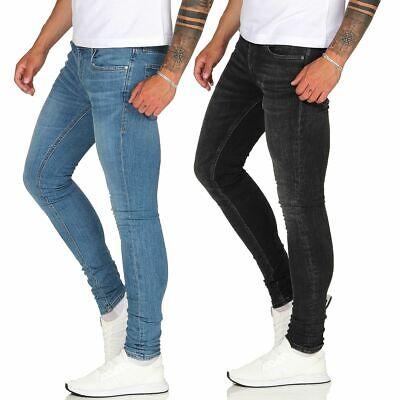 JACK & JONES Super Skinny Jeans TOM enge Stretch Hose für Herren 28 29 30 31 32  - 32 Skinny Jeans