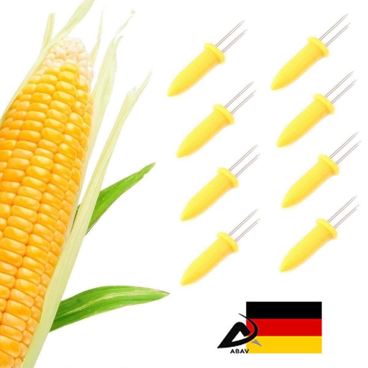 8x  Maiskolbenhalter  BBQ Party Maiskolben Grille Spieße Stocher Halter Corn