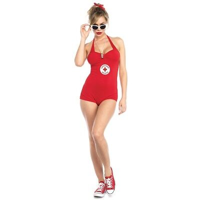 tungsschwimmer Damen Kostüm The Sandlot Rot Badeanzug Sexy (Damen Kostüm Wendy)
