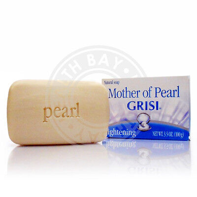 Mother of Pearl Concha Nacar Madre Perla GRISI Lightening Soap Jabon Blanqueador