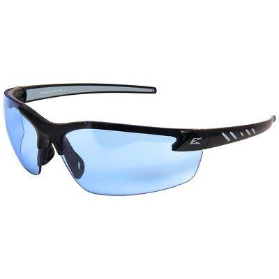 Edge Zorge G2 Safety Glasses With Light Blue Lens Black Frame
