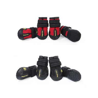 (Waterproof Pet Shoes Anti Skid Dog Boots For Medium/Large Labrador Husky Shoes)