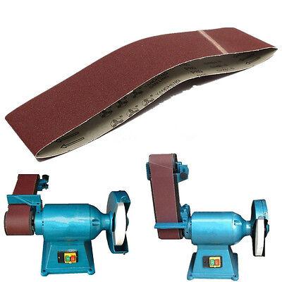 "4""x36""Sanding Belts 80 Grit Aluminium Oxide For Sander Replacement Accessories"