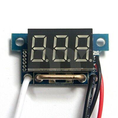 0.36 Yellow  Led Digital Dc Ammeter Amp Mini Current Panel Meter Dc 0-10a