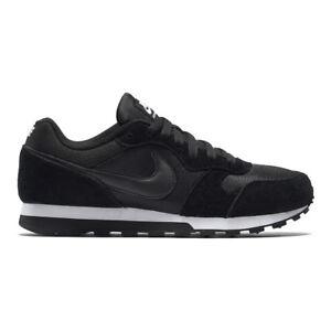 Nike - MD Runner 2 Scarpe da Donna Nero (black/black-white) 41 EU