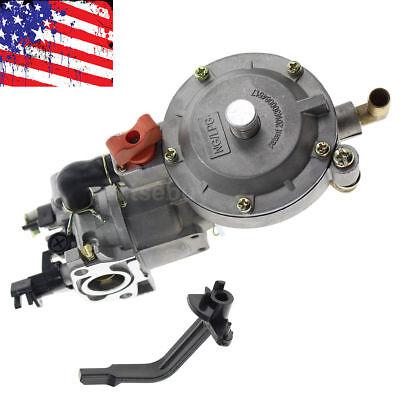 Dual Fuel LPG Conversion Carburetor for Generator GX200 160F 168F 170F GX160 New