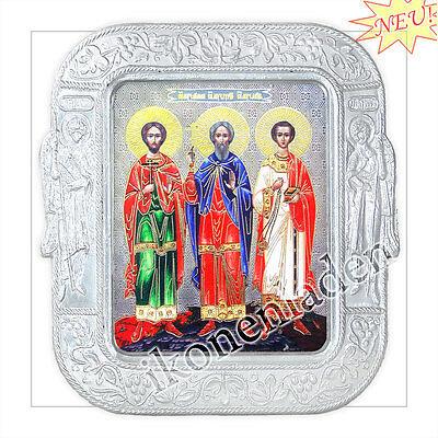 Ikone Die Beschützer der Ehe icon Icône M икона Гурий, Самон, Авива