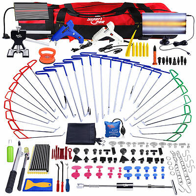167x PDR Tools Spring Steel Rods Paintless Dent Hail Repair Removal Full Kit Set