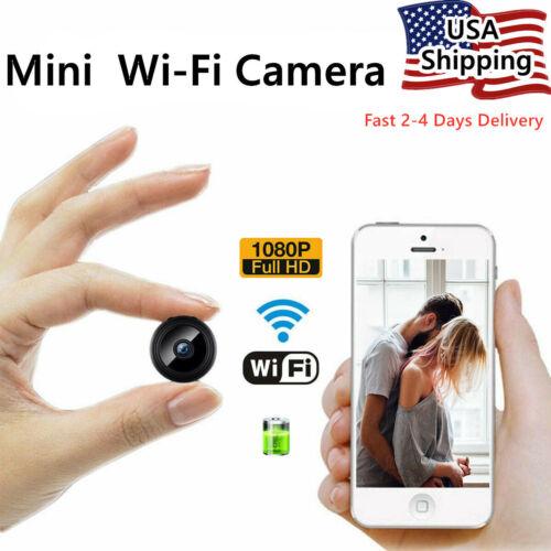 Mini Hidden Spy Camera Wifi Wireless Night Vision Home Security 1080P HD DVR Cam