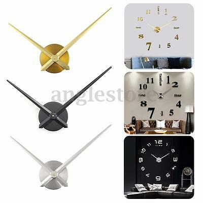 Large Quartz Wall Clock Movement Mechanism DIY Repair Tool Replace Parts Kit set