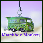 Matchbox Monkey Ornaments Keychains