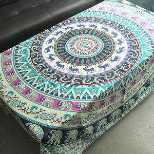 Wall Tapestry Bohemian Hanging Bedspread Bedding Rug Throw Decor  Ethnic Mandala