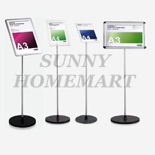 NEW A3 A4 Poster Stand Frame Pedestal Sign Holder Display 20...
