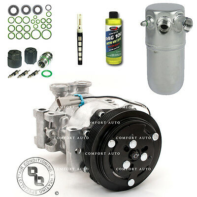 New AC Compressor Drier AC Kit Fits 1996   1999 Chevy K1500 All Engines